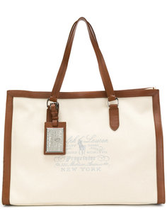 embroidered tote bag Ralph Lauren