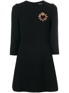 платье А-силуэта с вышивкой Dolce & Gabbana