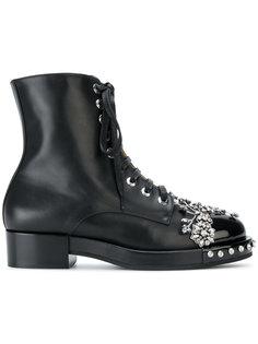 ботинки с кристаллами Nº21