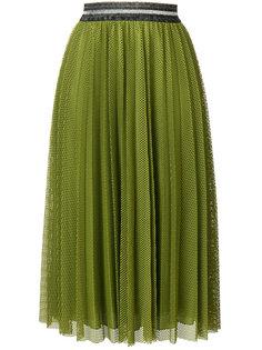 плиссированная юбка Luisa Cerano