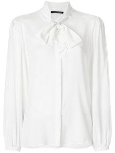 блузка с завязкой на бант Luisa Cerano
