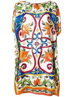 туника с принтом Dolce & Gabbana