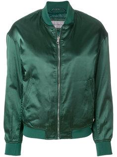атласная куртка-бомбер Calvin Klein Jeans