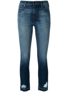 Ruby high rise cropped jeans J Brand