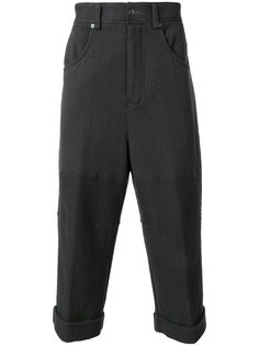 cropped wide pants The Viridi-Anne