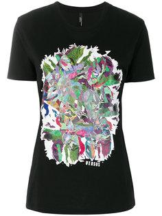 футболка с абстрактным принтом Versus