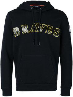 Braves drawstring hoodie Diesel