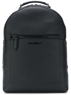 embroidered logo backpack Salvatore Ferragamo