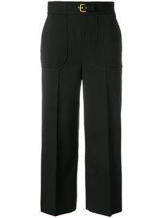 loose fit cropped trousers Red Valentino