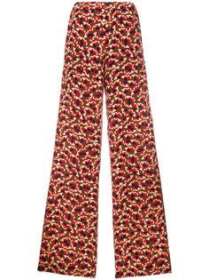 широкие брюки с принтом Marni