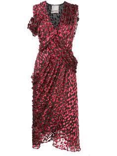 asymmetric wrap dress Jason Wu