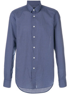long sleeved button up shirt Delloglio