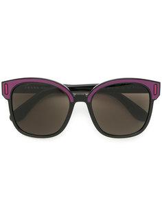 """квадратные солнцезащитные очки дизайна """"колор-блок"""" Prada Eyewear"""