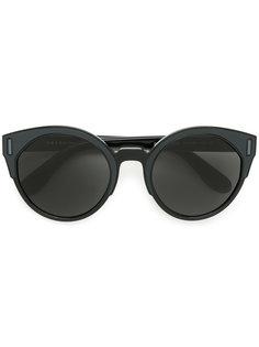 """массивные закругленные солнцезащитные очки в оправе """"кошачий глаз"""" Prada Eyewear"""