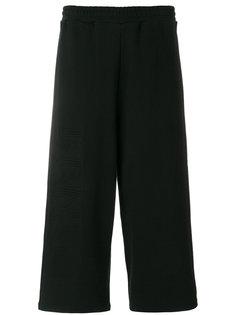 спортивные брюки с вышивкой Kenzo