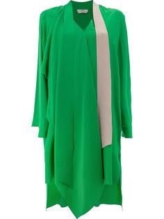 платье с завязкой на мягкий бант Fendi