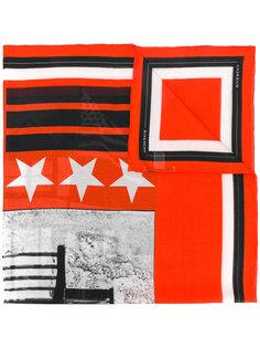 шарф с графическим принтом  Givenchy