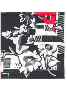 платок дизайна колор-блок Givenchy