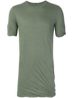 футболка со сборкой Rick Owens