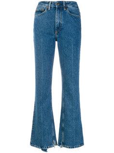 расклешенные джинсы  Mauro Grifoni