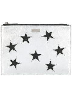 клатч Star с отделкой металлик Stella McCartney