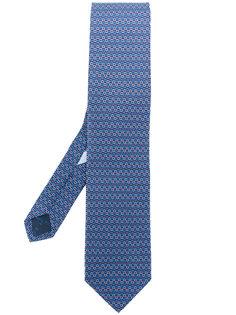 галстук с принтом Gancio Salvatore Ferragamo
