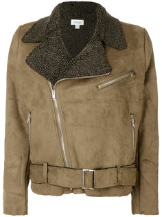 байкерская куртка с цигейкой Jovonna