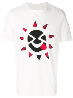 футболка с принтом солнца Maison Margiela
