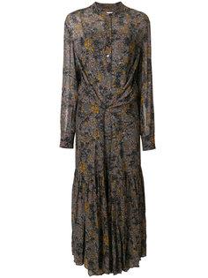длинное платье с принтом  Isabel Marant Étoile