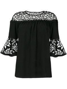 блузка Eros с цветочным узором Jovonna