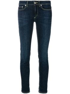 джинсы скинни с низкой посадкой Dondup