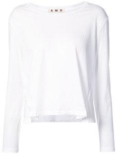 longsleeved twist T-shirt Amo