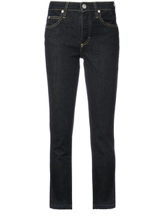straight-leg cropped jeans Amo