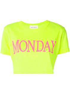 укороченная футболка Monday  Alberta Ferretti