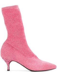 glitter sock boots  Strategia