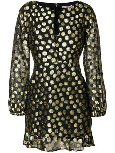 metallic polka dot dress For Love And Lemons