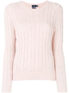 вязаный свитер с косами Polo Ralph Lauren