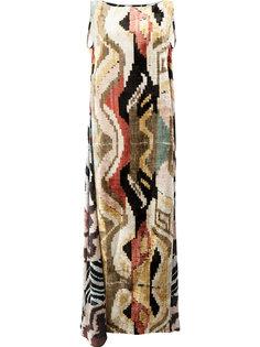 длинное платье-кафтан Afroditi Hera