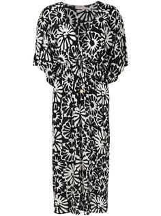 пляжное платье Pomelo с цветочным узором Tory Burch