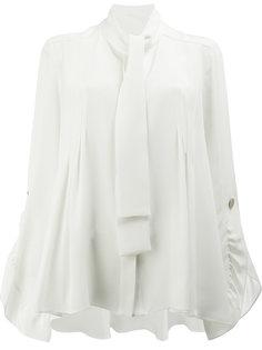 блузка с завязкой на мягкий бант Peter Pilotto