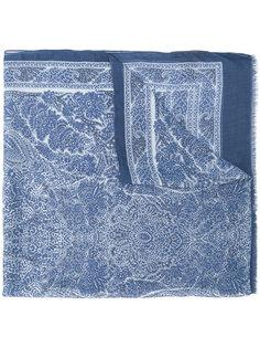 шарф с вышивкой  John Varvatos