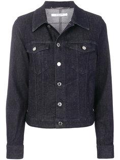 джинсовая куртка с принтом-логотипом  Givenchy