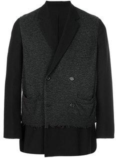 пиджак с многослойным эффектом Undercover