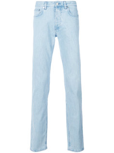 джинсы прямого кроя с логотипом  Givenchy