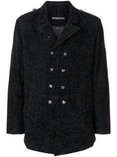 двубортное пальто John Varvatos