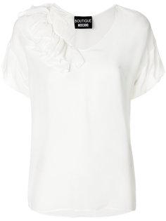 футболка с рюшами Boutique Moschino