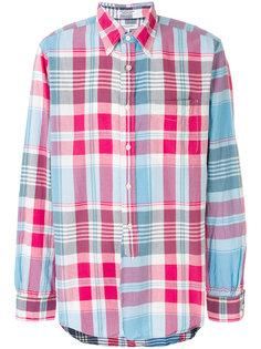 рубашка в клетку на пуговицах Engineered Garments
