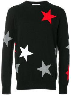 свитер со звездами Givenchy