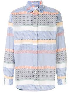рубашка с узором Engineered Garments