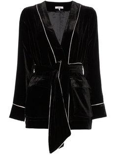 бархатный пиджак rodier  Ganni